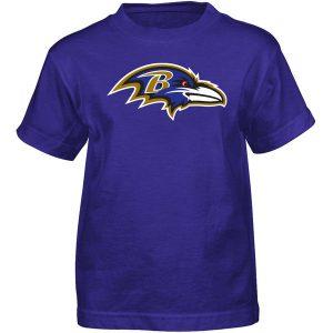 Baltimore Ravens Youth Basic Logo S/S T-Shirt