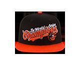 Baltimore Orioles World Champon Heritatage Snapback Cap