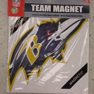 Raven's Single Bird Head Magnet
