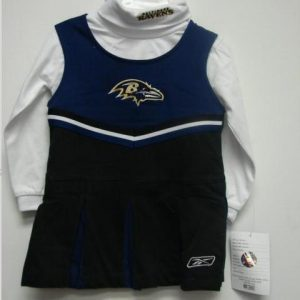 Baltimore Ravens Toddler Cheerleader Outfit