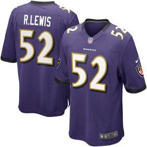 Baltimore Ravens Youth Purple Ray Lewis Jersey