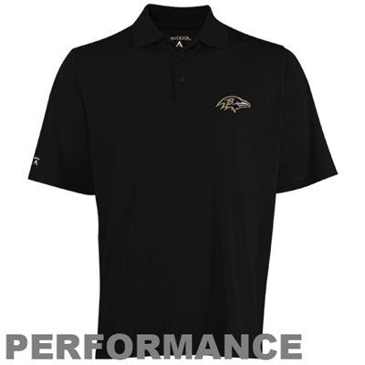 Baltimore Ravens Black Polo by Antgua