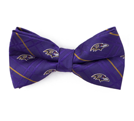 Baltimore Ravens Poly Bow Tie