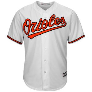 Baltimore Orioles Youth Cool Home Whiite Jersey