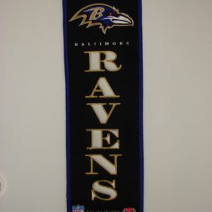 Baltimore Ravens Superbowl 35 Banner