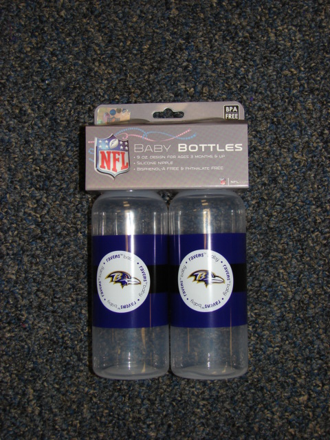 Baltimore Ravens Bottle Set