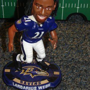 Baltimore Ravens Lardarius Webb Bobblehead