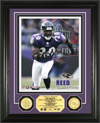 Ed Reed 2019 Hall of Fame Photomint