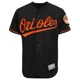 Baltimore Orioles Black Flexbase Authentc Jersey