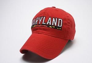 University of Maryland Red Logo Cap