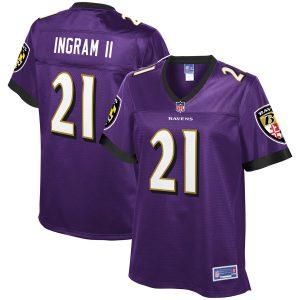 Baltimore Ravens Mark Ingram Purple Game Jersey