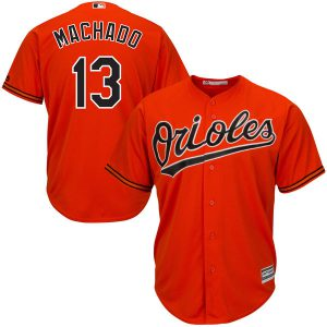 Baltimore Orioles Youth Manny Machado Orange Jersey (Cool Base)