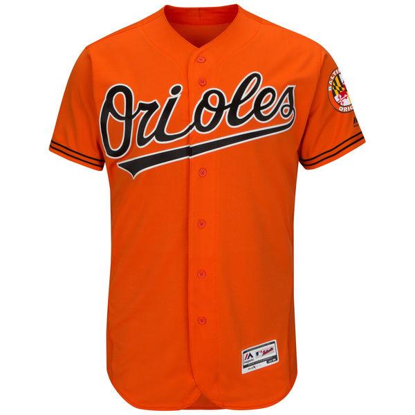 Baltimore Orioles Authentic Orange Flexbase Jersey