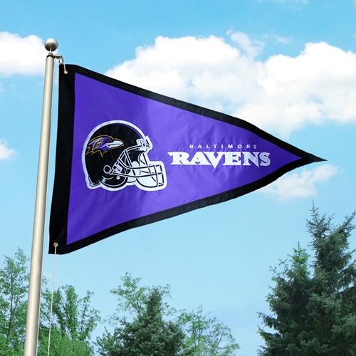 Baltimore Ravens Giant 3 x5 Penant Flag