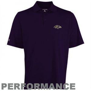 Baltimore Ravens Purple Polo by Antigua