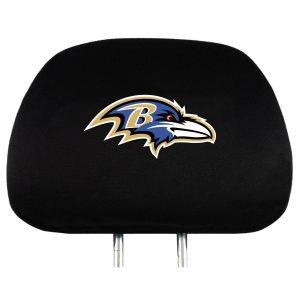 Baltimore Ravens Headrest Covers (2)