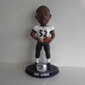 Ray Lewis Superbowl 47 Bobblehead