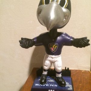 baltimore Raven Skyline Bobblehead