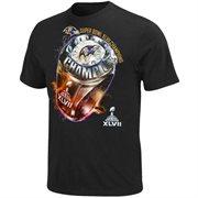 Baltimore Ravens S/S Superbwol Champions Ring T-shirt