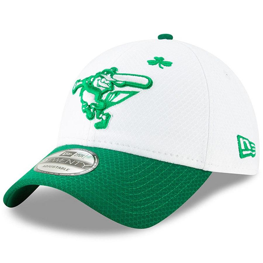 Baltimore Orioles 2019 Adjustable St. Patricks Day Cap