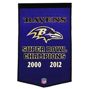 Baltimore Ravens Superbowl Dynasty Banner