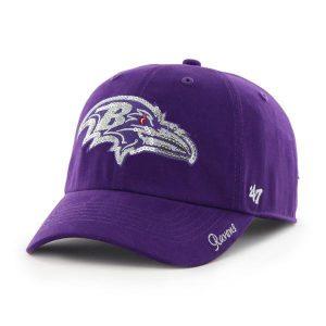 Baltimore Ravens Ladies Sparkle Cap