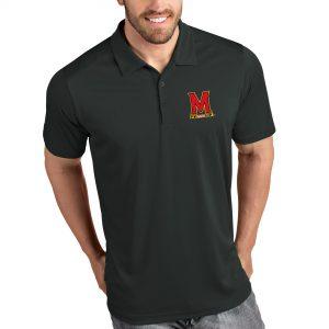 University Of Maryland Black Polo Shirt