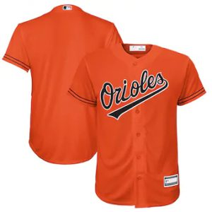 Baltimore Orioles Orange Youth Replica Jersey